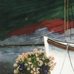 Daisies and Schooner Wawona, Seattle