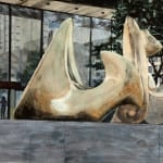 "Some Of Henry Moore's ""Vertebrae"", 4th And Madison"