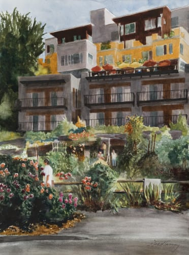 Cliff Dwellers and Gardens