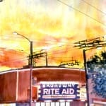 Broadway Rite Aid Sunset