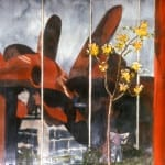 """""""Olympic Iliad"""" Reflection of the Sculpture"""
