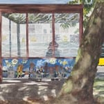 Mural at the Bus Stop