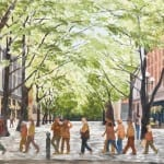 Tour Group on Occidental Avenue